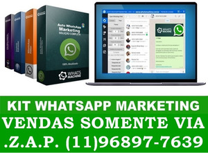 KIT WHATSAPP MARKETING + FACEBOOK EXTRATOR