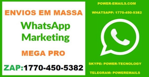 Kit Envios Em Massa Whatsapp Marketing