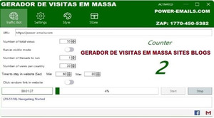 Gerador De Visitas Sites e Blogs Em Massa 2020