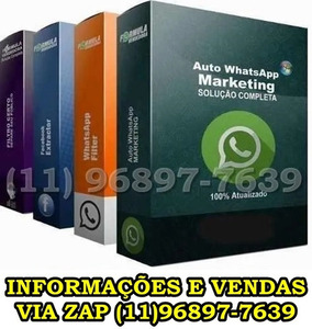Whatsapp Marketing em Massa Download Grátis